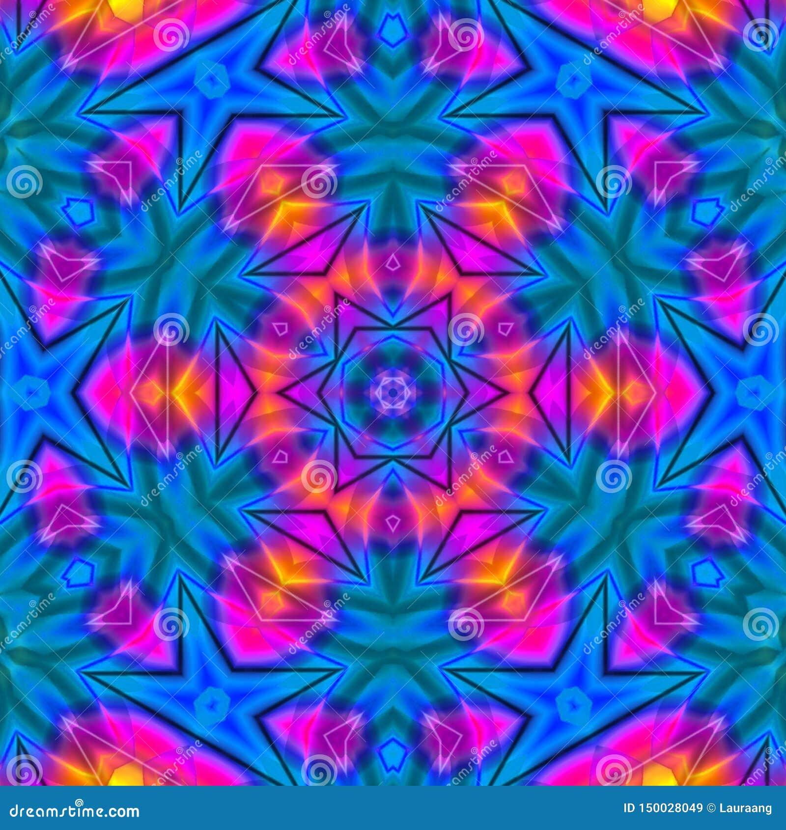 Colores azules y rosados del wirh ligero abstracto del fondo