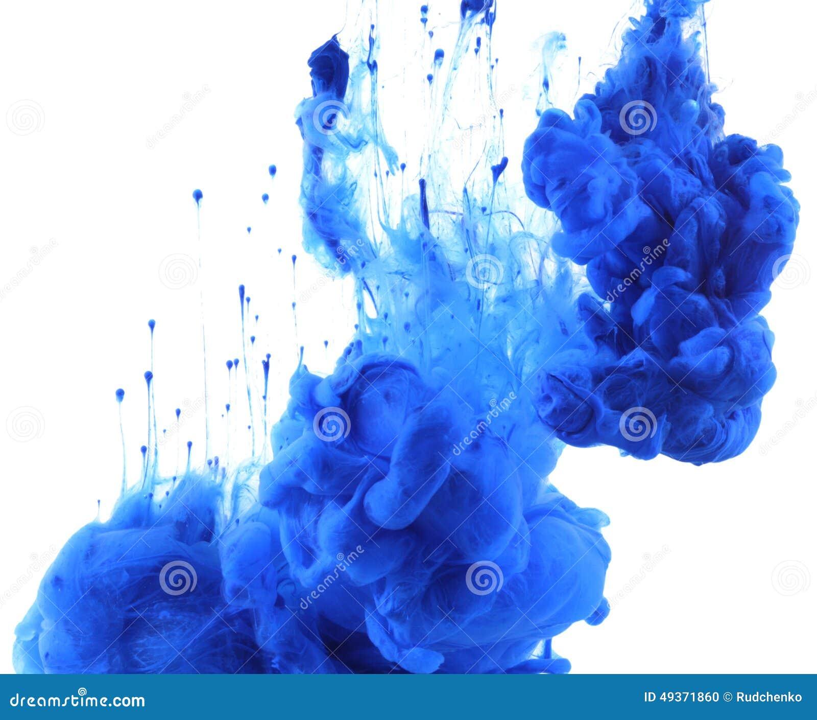 Colores de acrílico y tinta en agua abstraiga el fondo