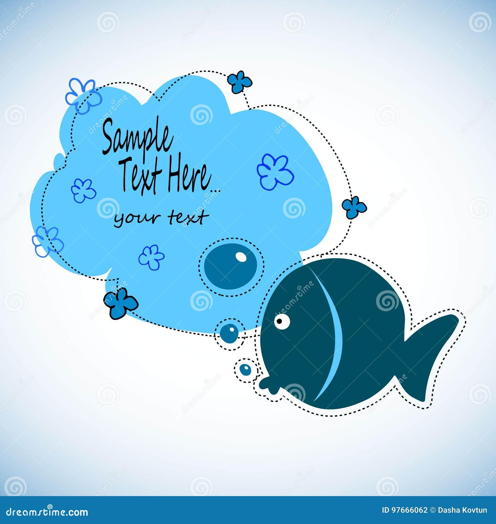 Colorez l activité de dessin de poissons Le jeu éducatif pour l école maternelle a vieilli des enfants, thème d animaux