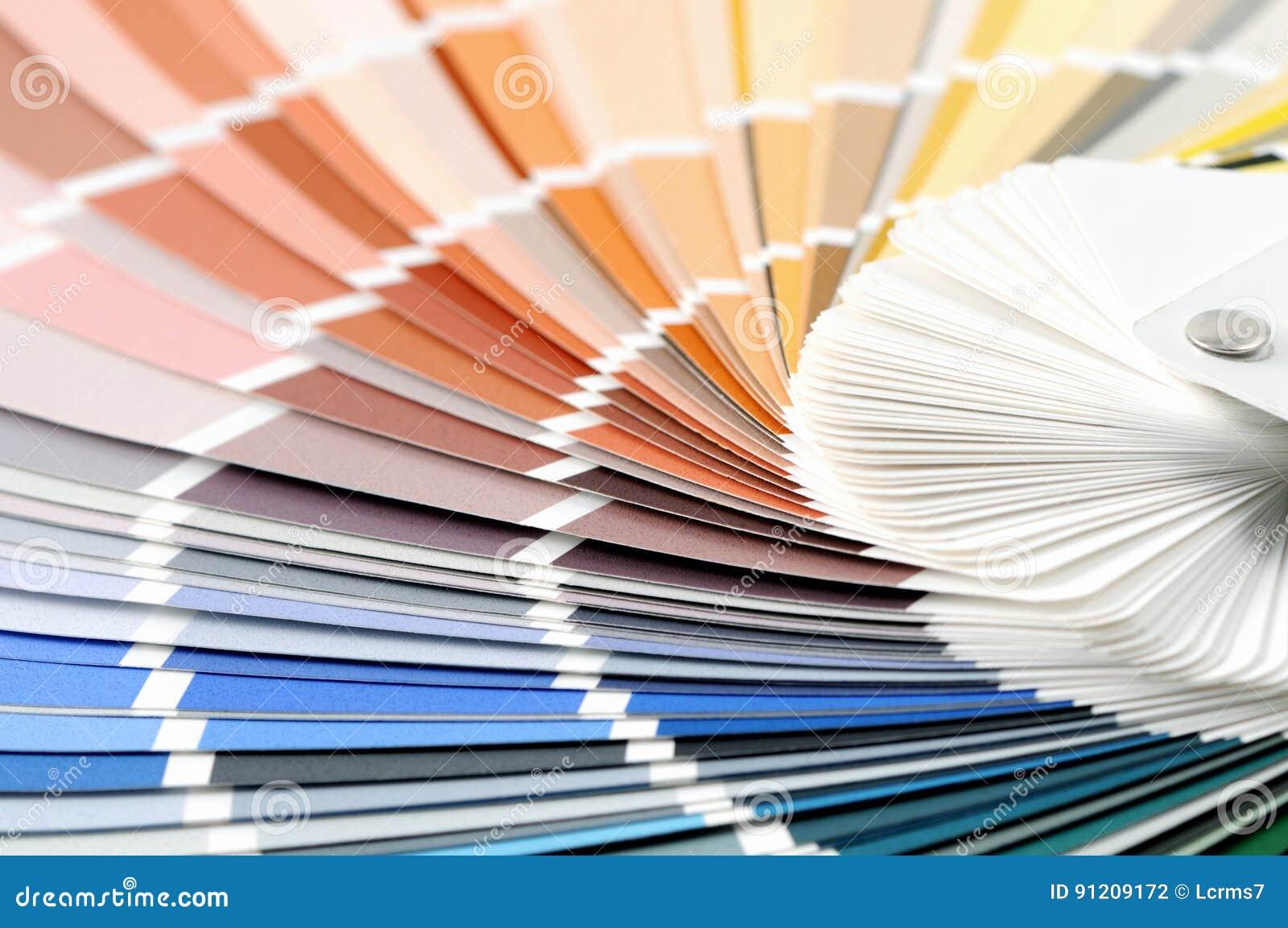 colorez le plein fond de cadre d'échantillons au choix une couleur