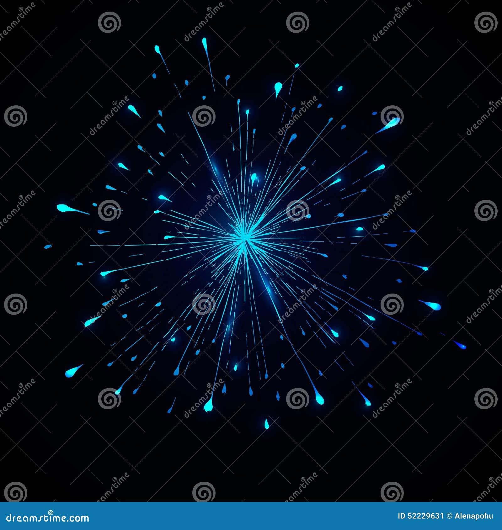 colorez le vecteur d u0026 39  u00e9claboussure pour le logo sur le fond fonc u00e9 illustration de vecteur