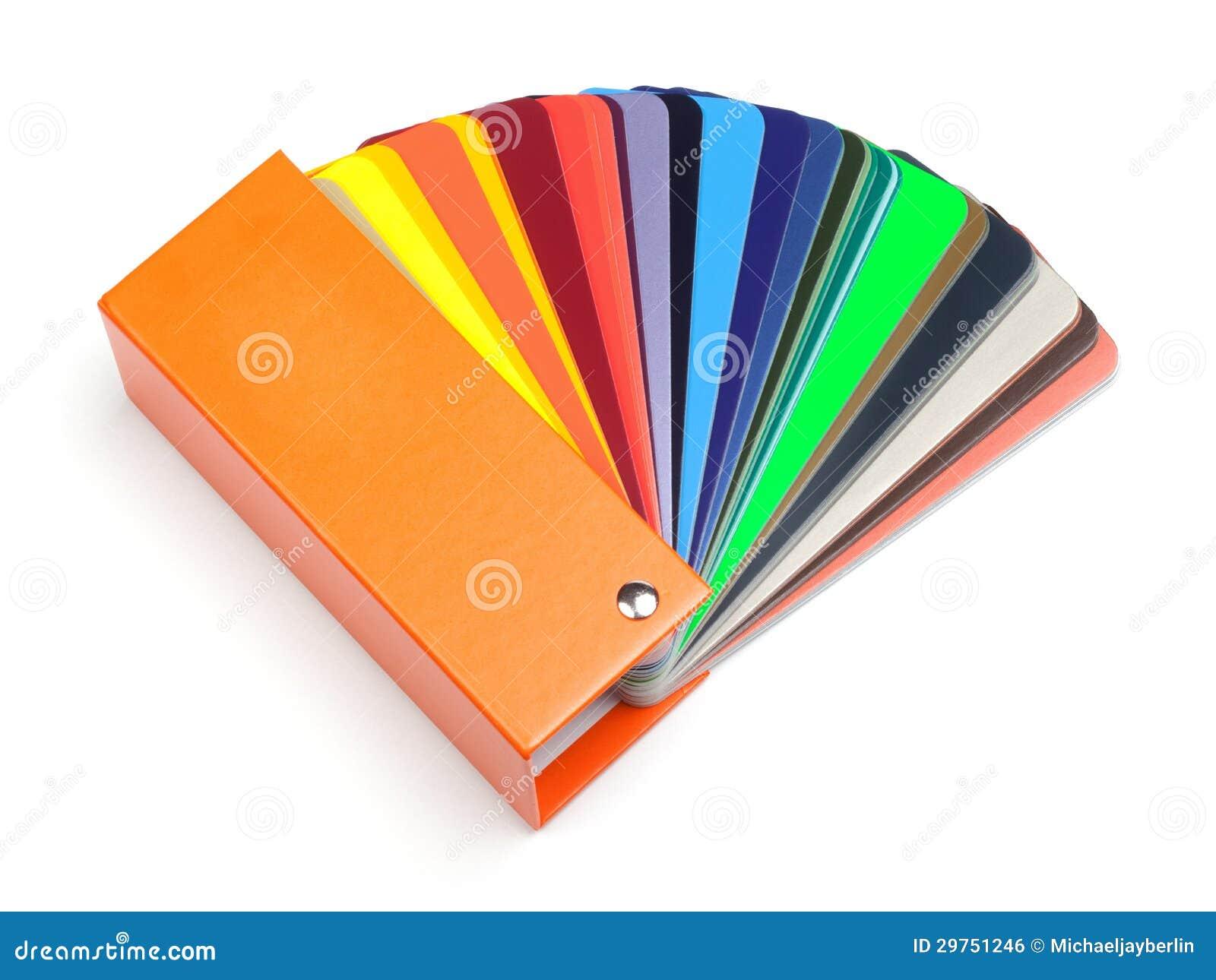 Ventilateur Ou échantillon De Couleur Photo stock   Image du