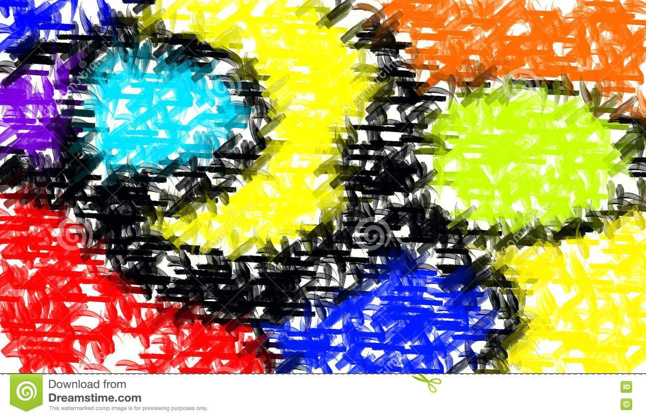 abstractual 1 colourful abstract - photo #2