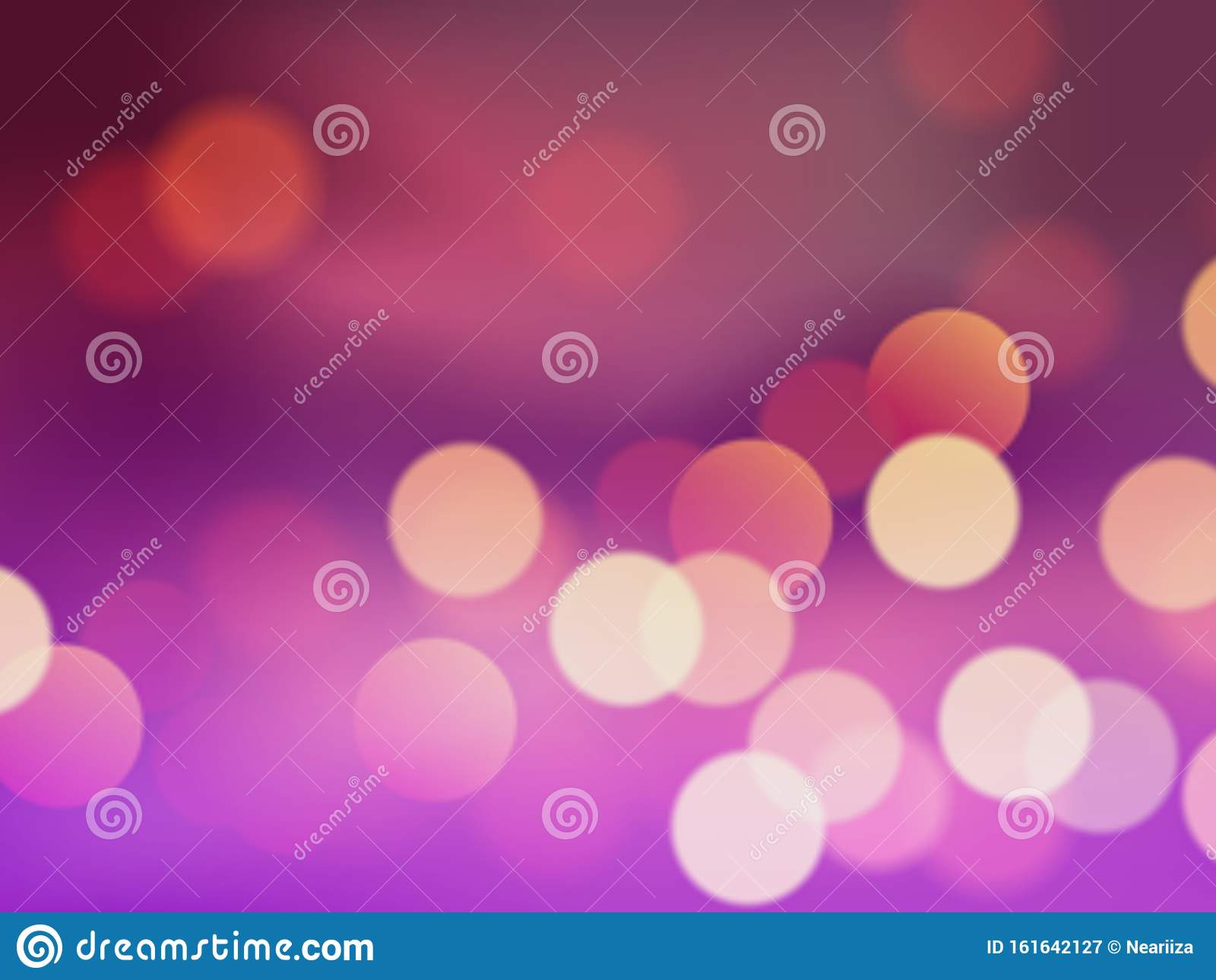 Colorful Abstract Background With Bokeh Light For Desktop