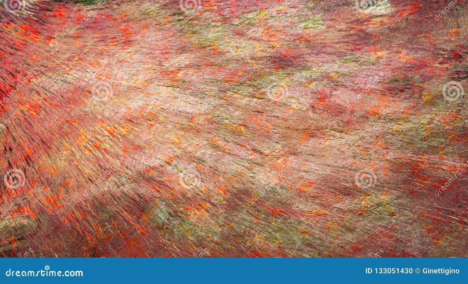 Abstract Paint Splatter Frame Stock Illustration