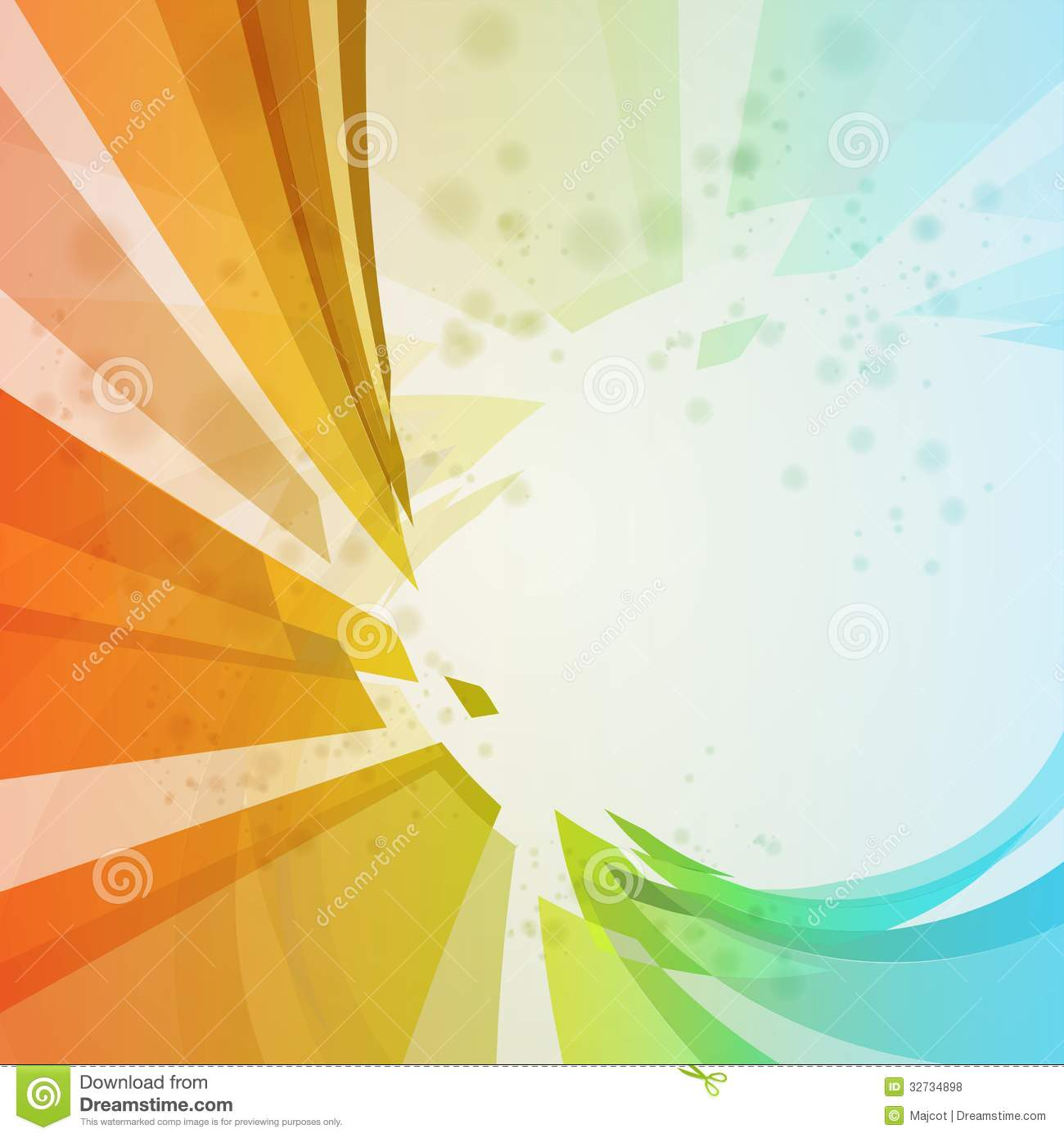 Colorful Abstract Background Stock Vector