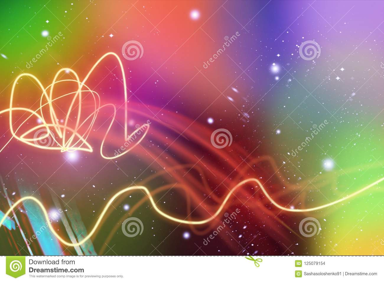 A colorful, abstract colorful background