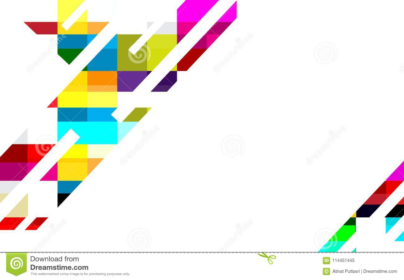 Colorful Abstract Background Vector Design For Business