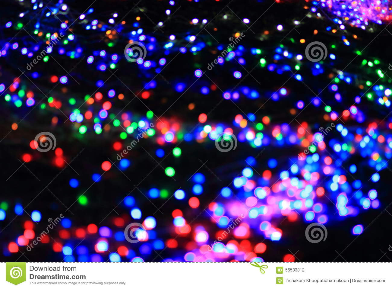 Colorful abstract blur nature background with bokeh