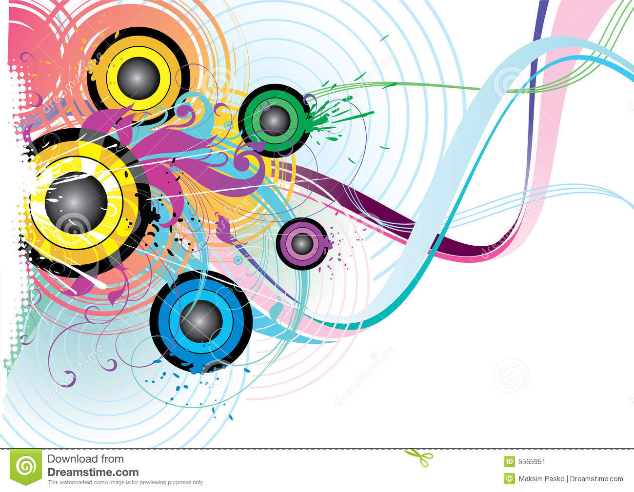 Colorful abstract design stock image image 5565951 - Photo image design ...
