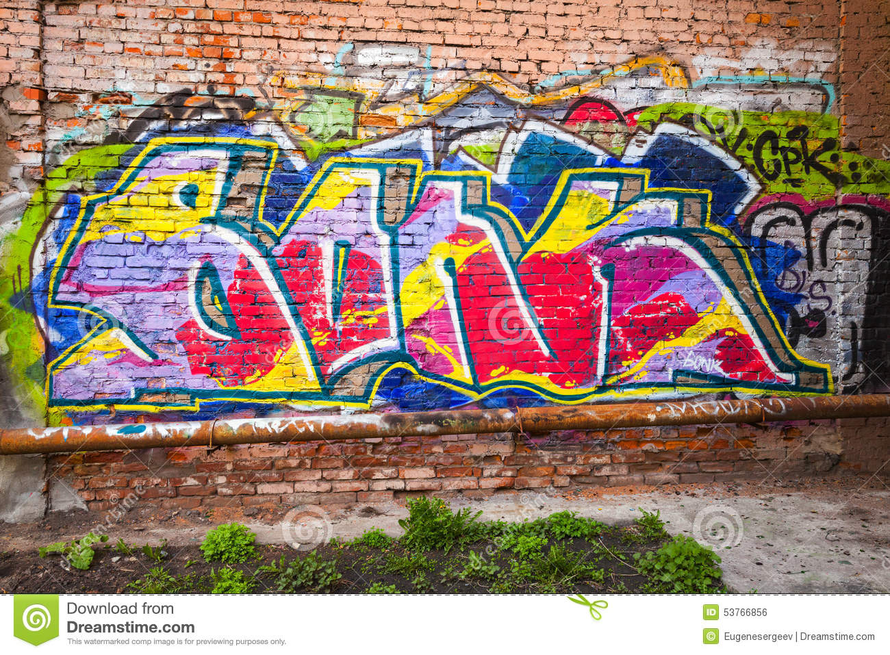 How to add graffiti text to a photo