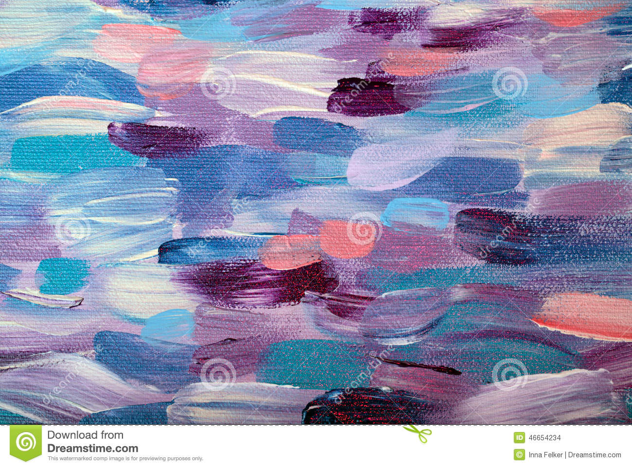 Colorful abstract oil painting pattern