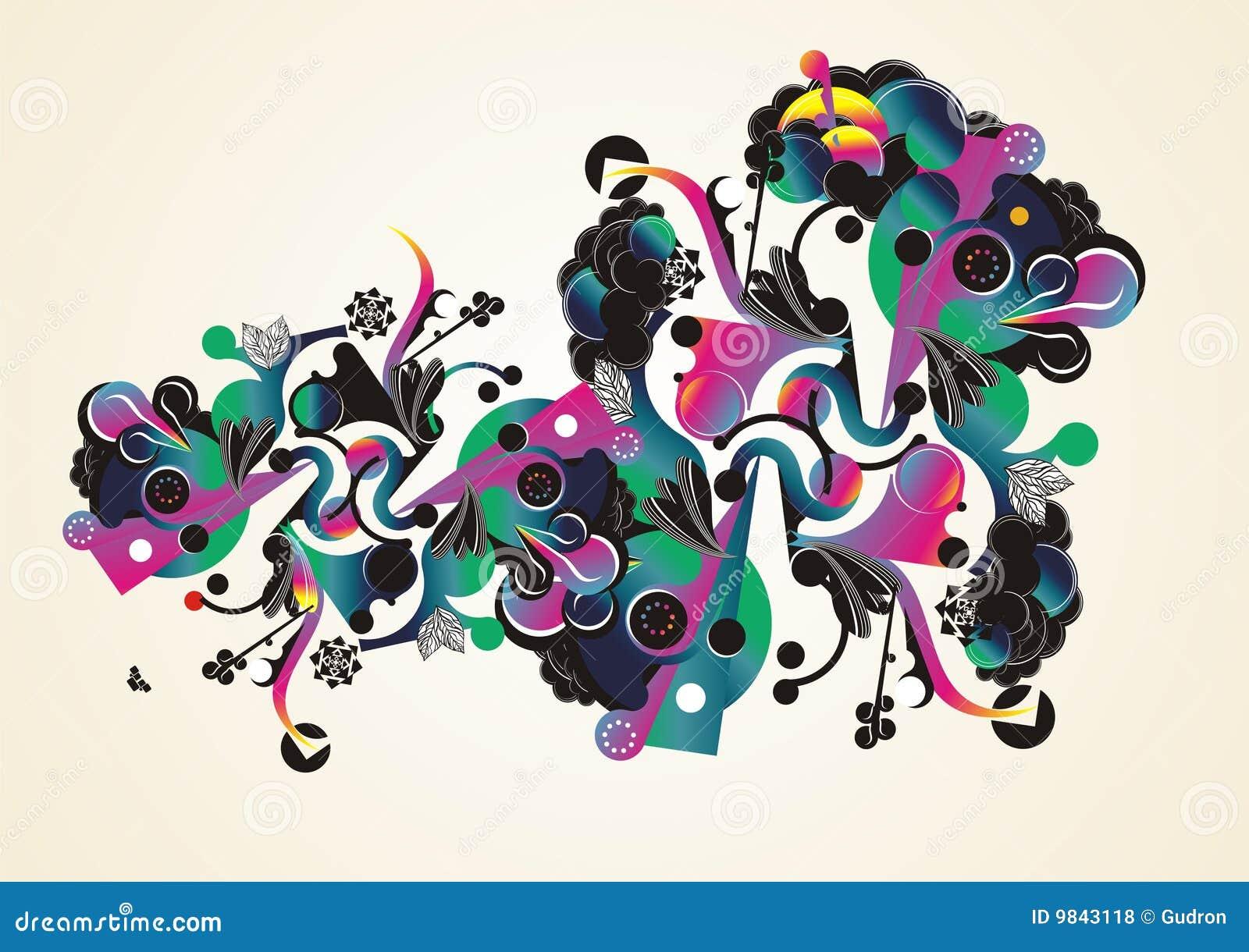 Colorful Abstract Orga...