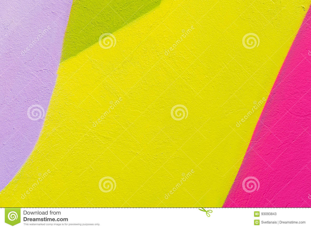 Colorful Abstract Textured Background. Street Art, Plastered Wall ...