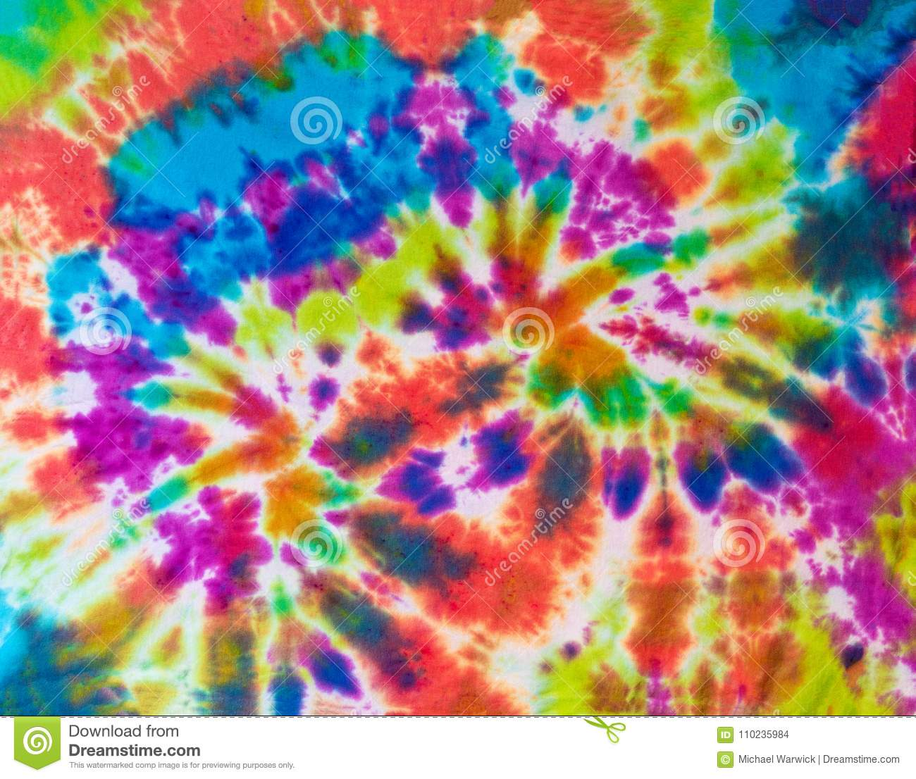 Colorful Abstract Tie Dye Pattern Design In Multiple Colors ...