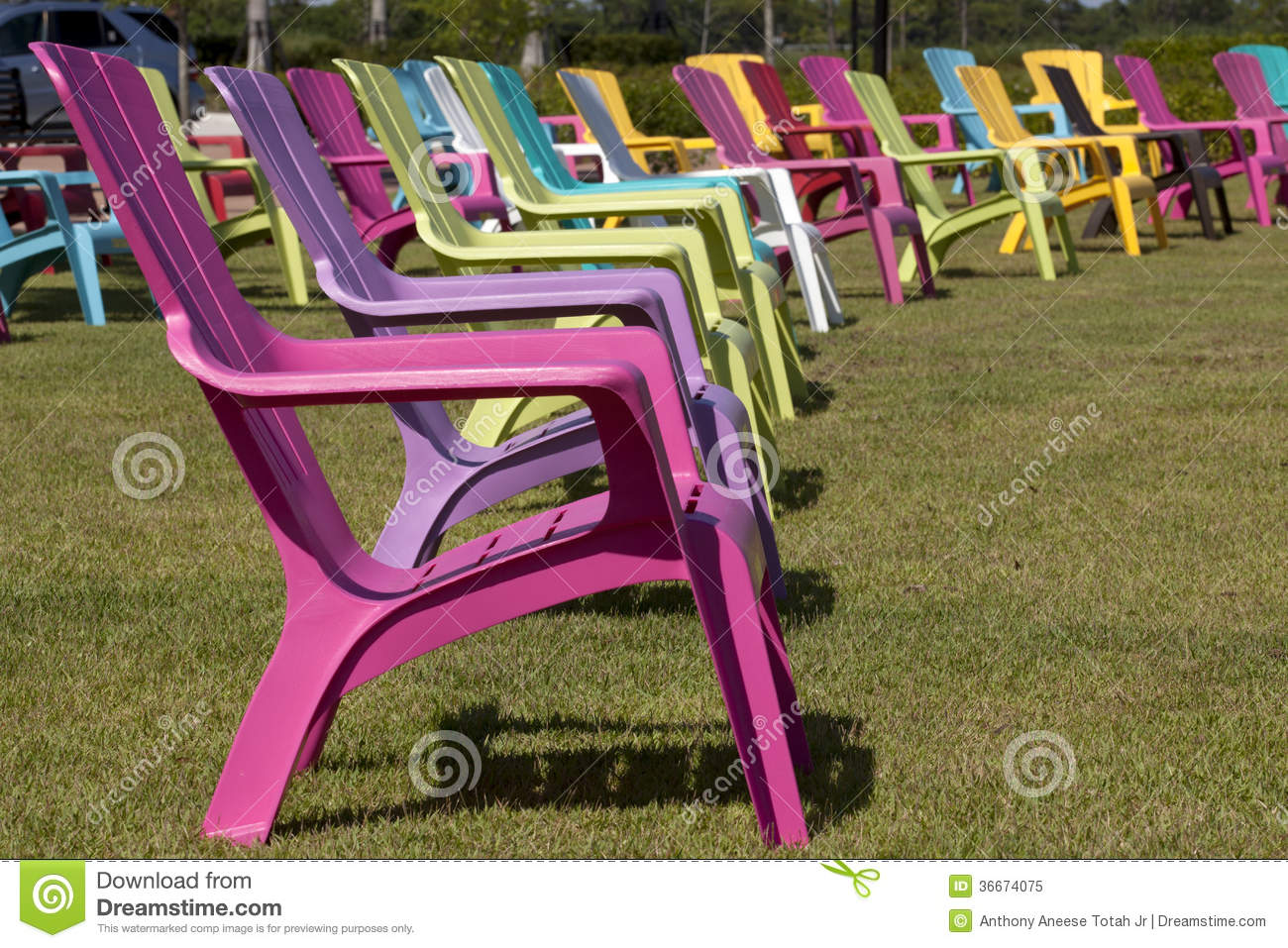 Colorful adirondack chairs - Royalty Free Stock Photo Download Colorful Adirondack Chair