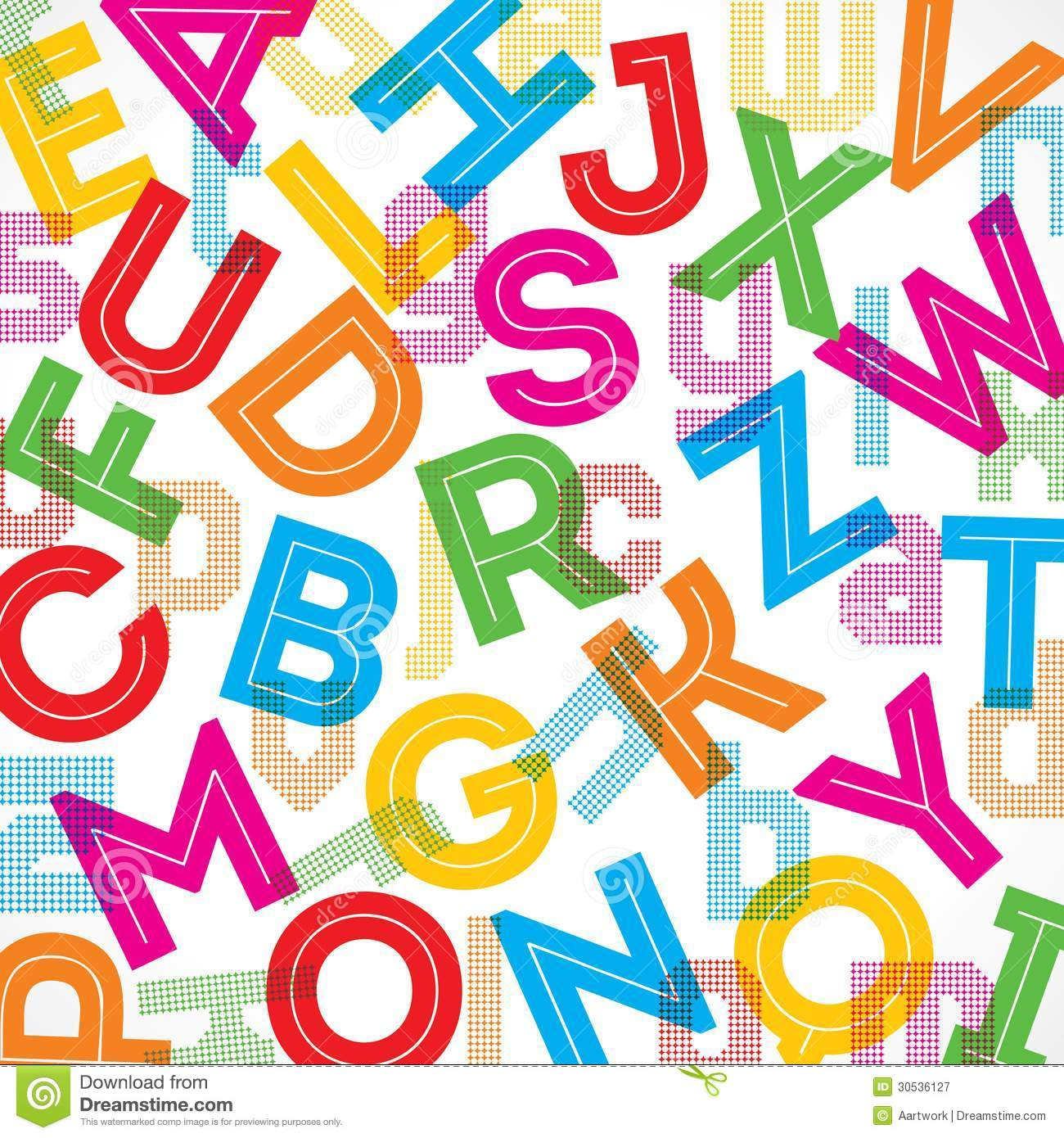 Alphabet Background | www.galleryhip.com - The Hippest Pics