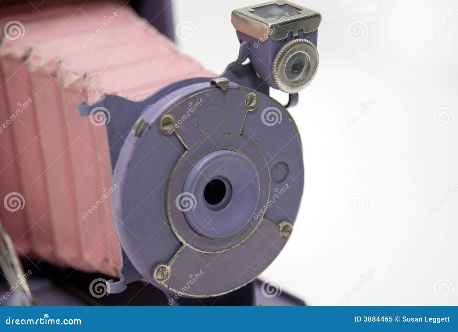 Colorful Antique Camera