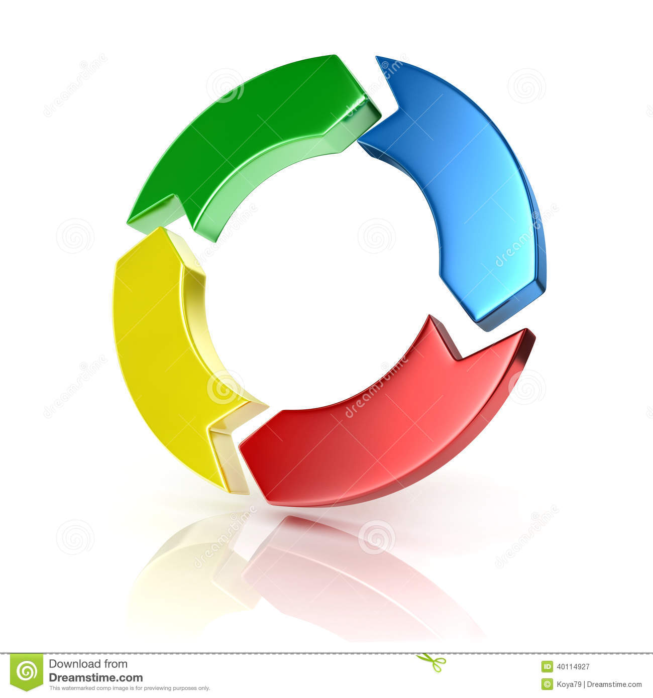 Process cycling arrow by arrow royalty free stock images image - Colorful Arrows Forming Circle Cycle 3d Concept Royalty Free Stock Photography
