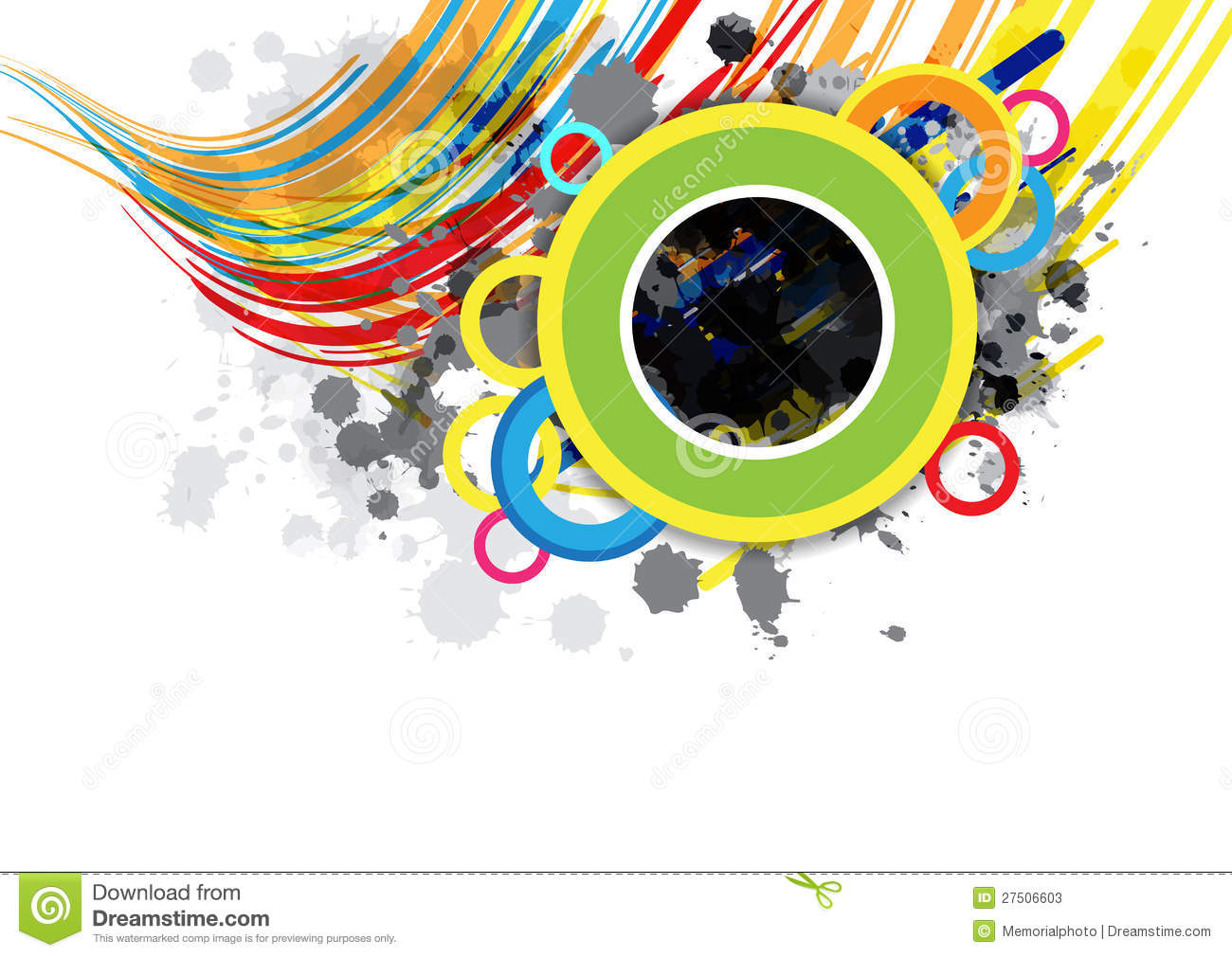 Colorful Art Abstract Background Design Stock Photos Image 27506603 throughout Abstract Circle Background Art Design