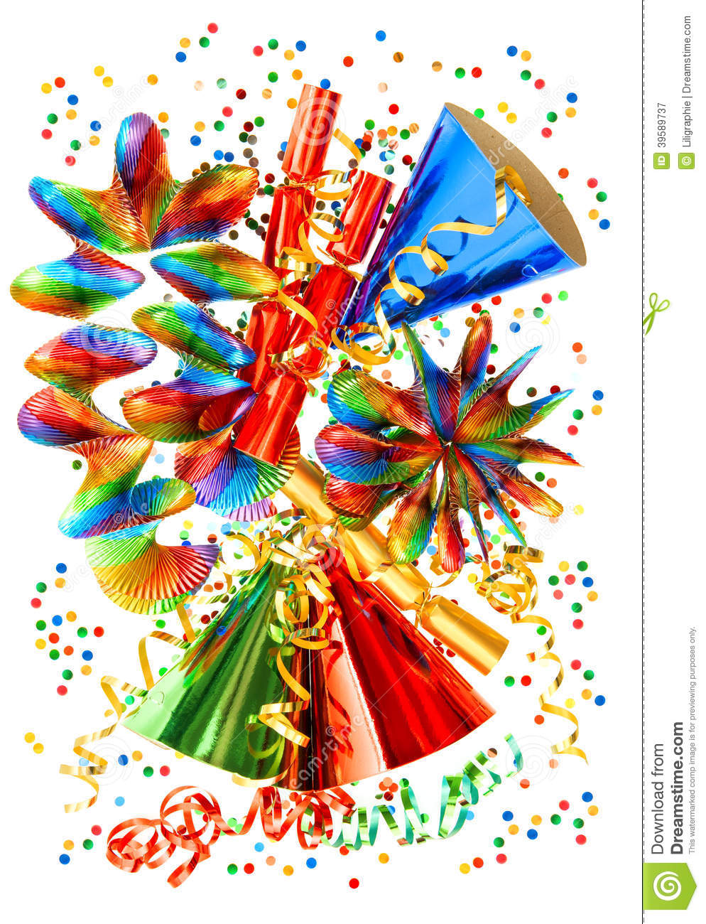 colorful new year decoration - photo #13