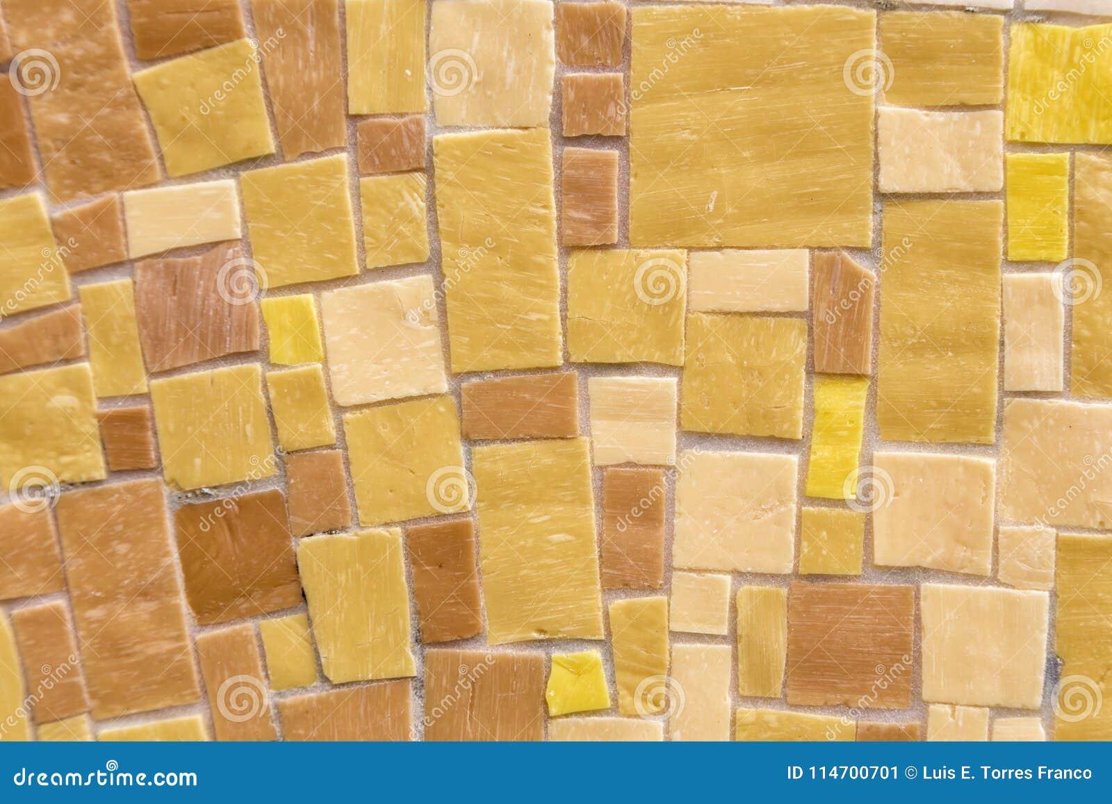 Colorful Mosaic Wall Background Stock Image - Image of decorative ...