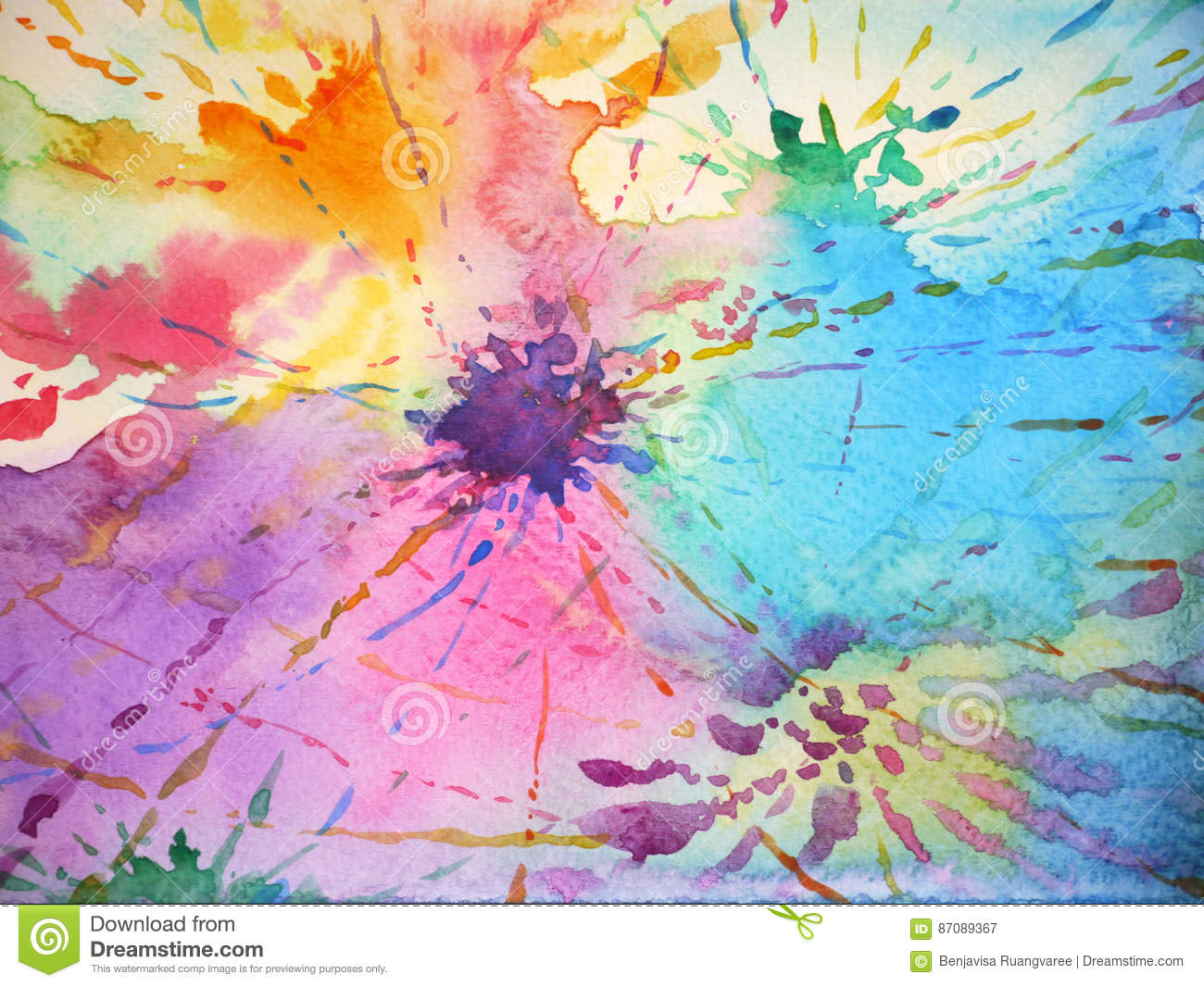 Color Painting Watercolor Splash Background Color Clipart: Colorful Background Splash Color Drop Painting, Design