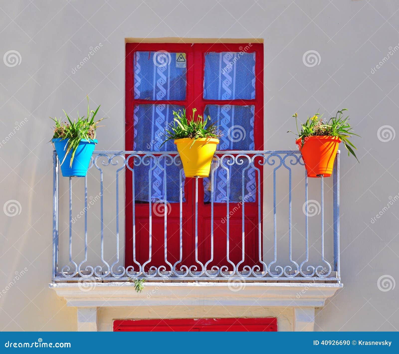 Colorful Balcony Stock Photo Image Of Italy Balcony 40926690