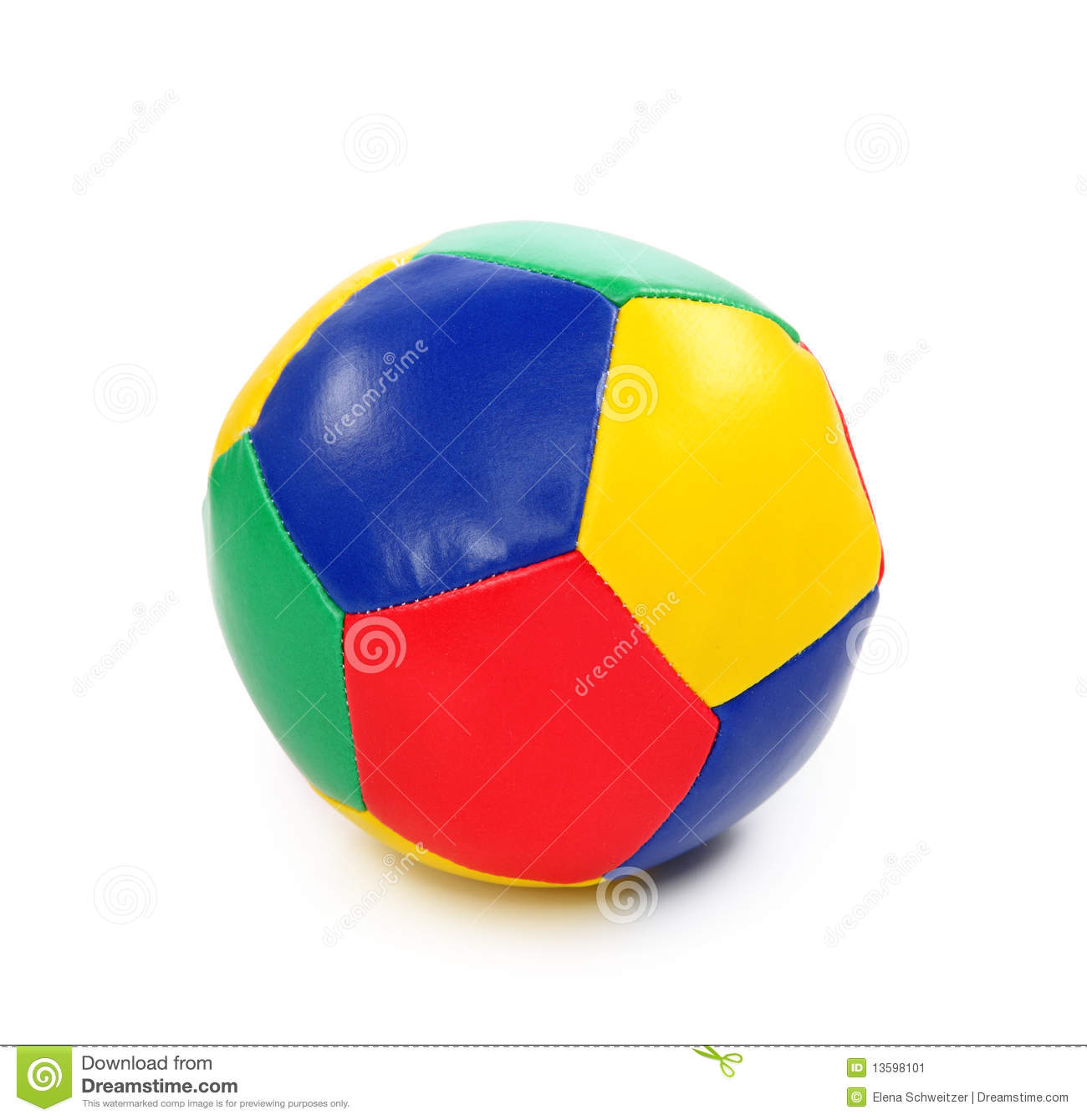 Colorful Ball Toy Stock Image Image 13598101