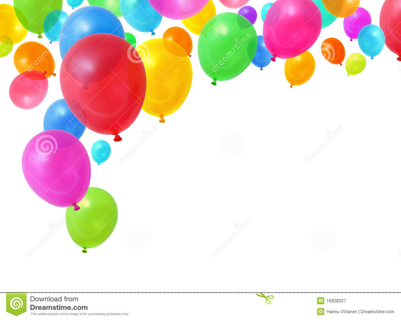Colorful Balloons Royalty Free Stock Photography - Image: 16928327