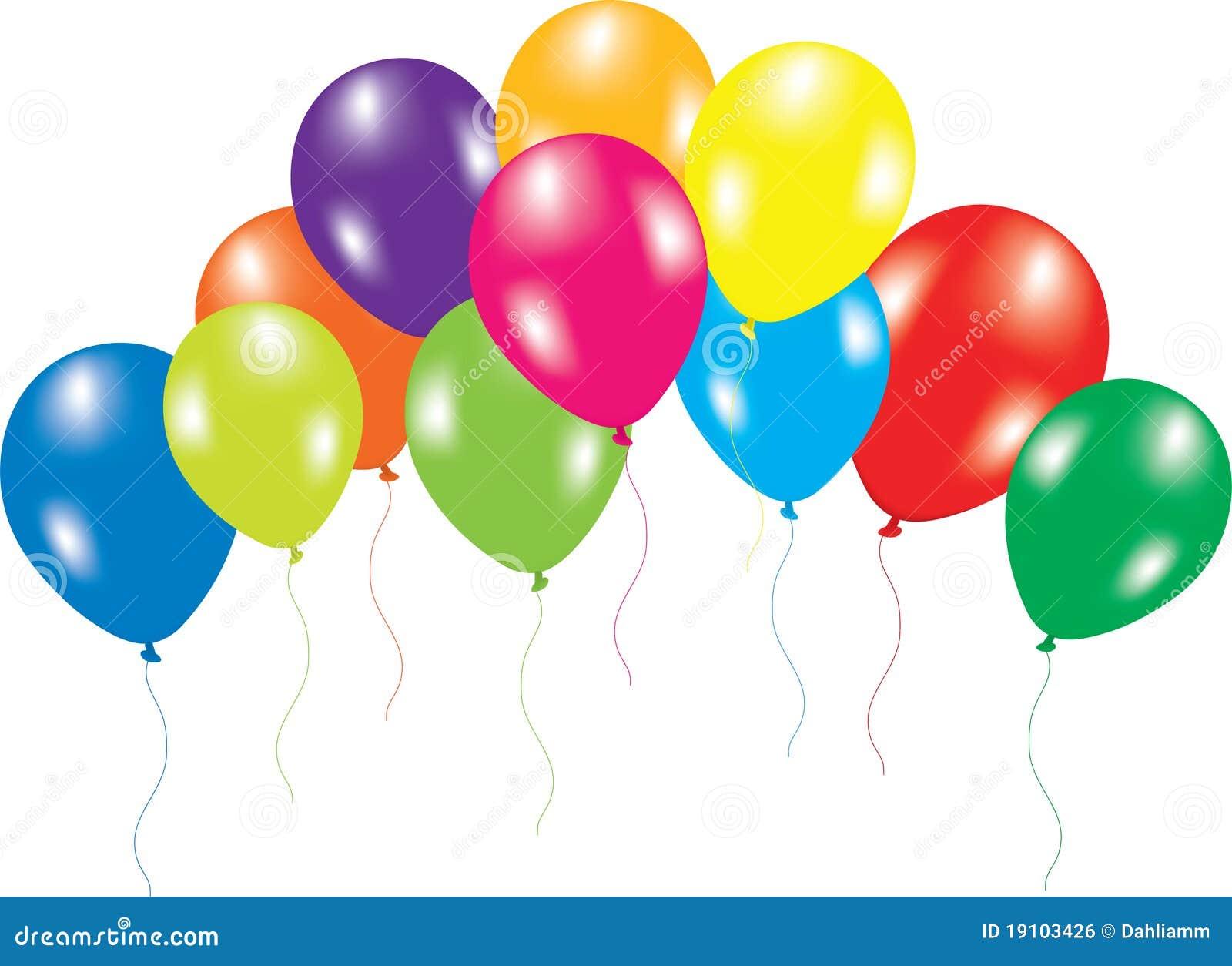 balloons white background - photo #7