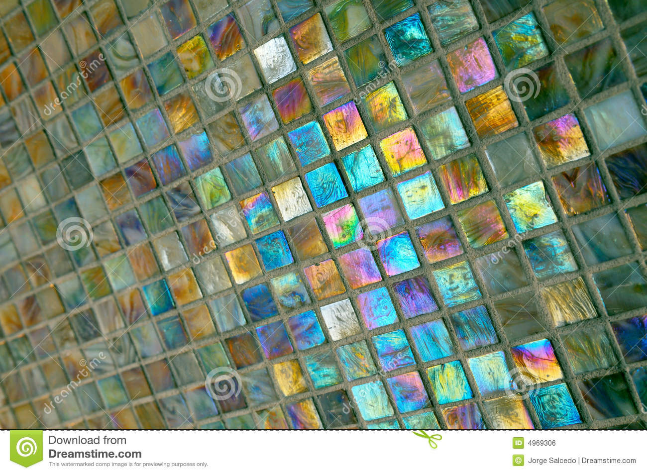 Colorful Bathroom Tiles Stock Photo Image Of Colorful