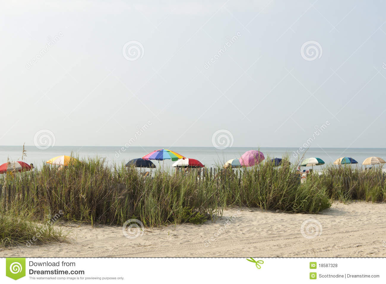 Colorful Beach Umbrellas At Myrtle Beach Royalty Free ... - photo#46