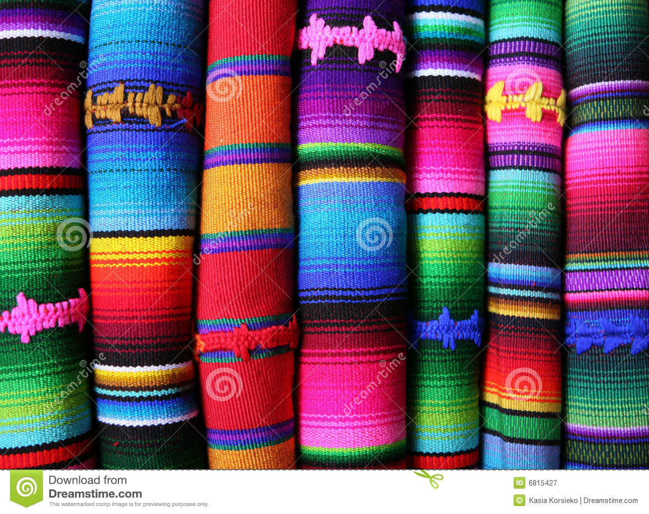 Colorful Blankets Stock Image Image Of Background Alpaca