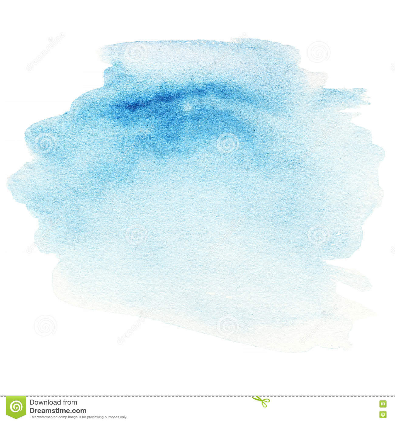 Watercolor splatter vector abstract watercolor background - Colorful Blue Watercolor Splash Background Abstract Ink