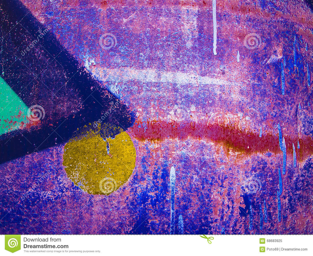 Colorful blurred abstract background or bokeh.