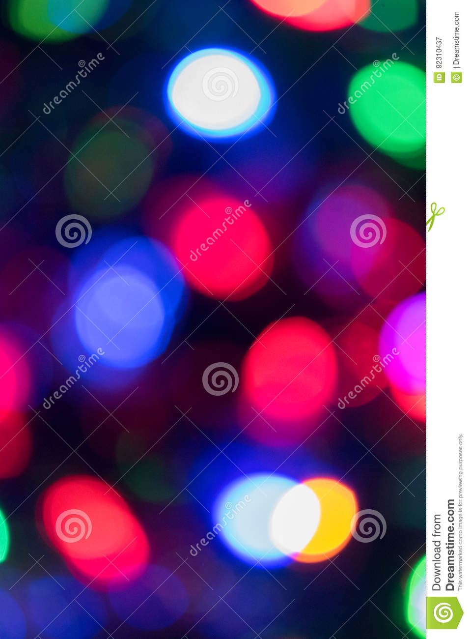 Colorful bokeh background stock image. Image of abstract ...