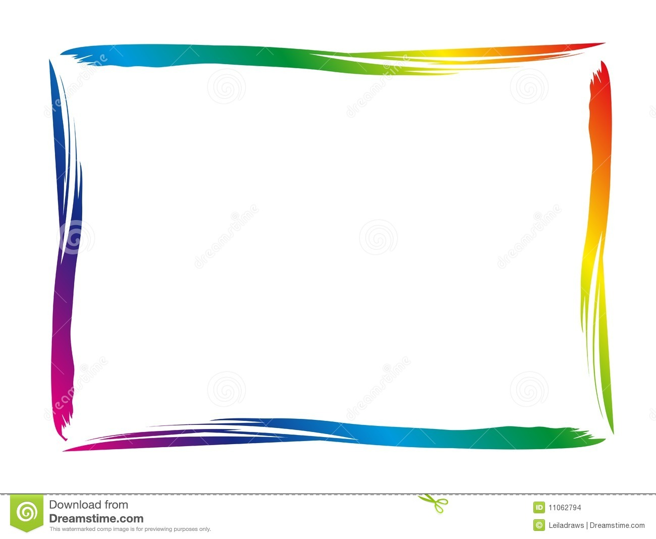 Colorful Border Stock Images - Image: 11062794