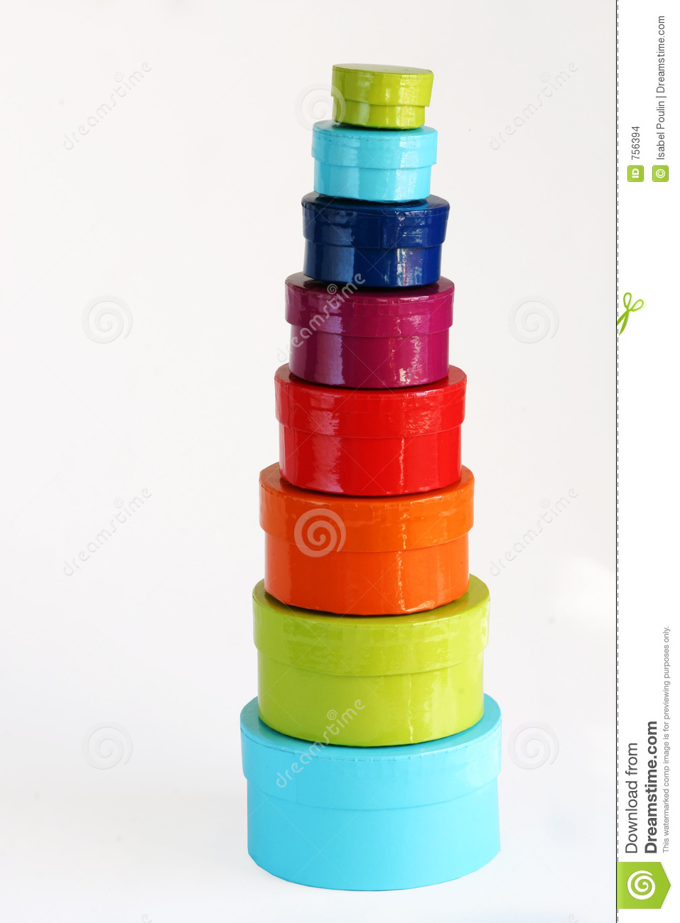 Colorful Boxes Stock Images Image 756394