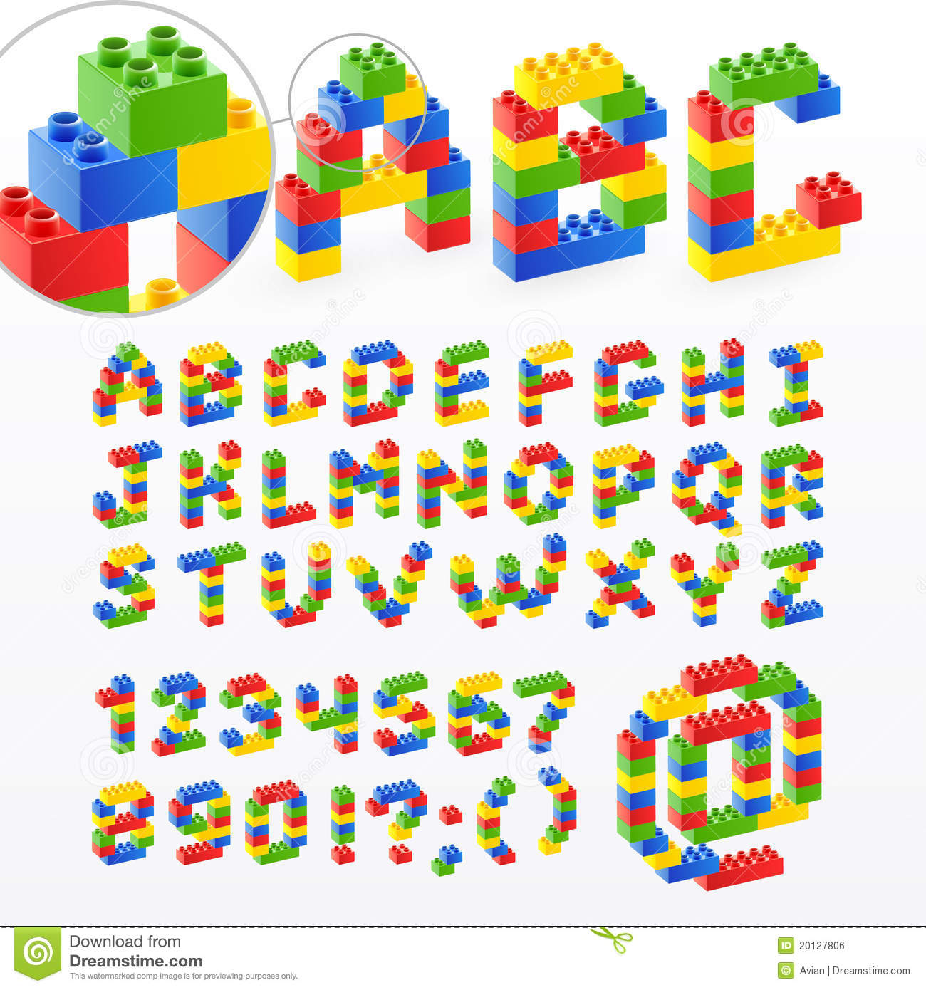 Letters And Number Toys