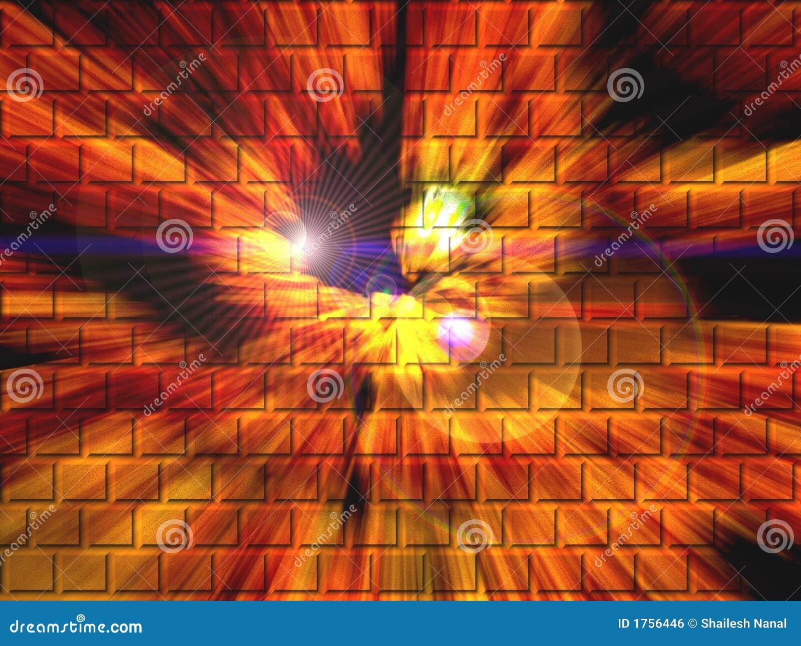 Colorful Brick Wall Abstract Royalty Free Stock Image