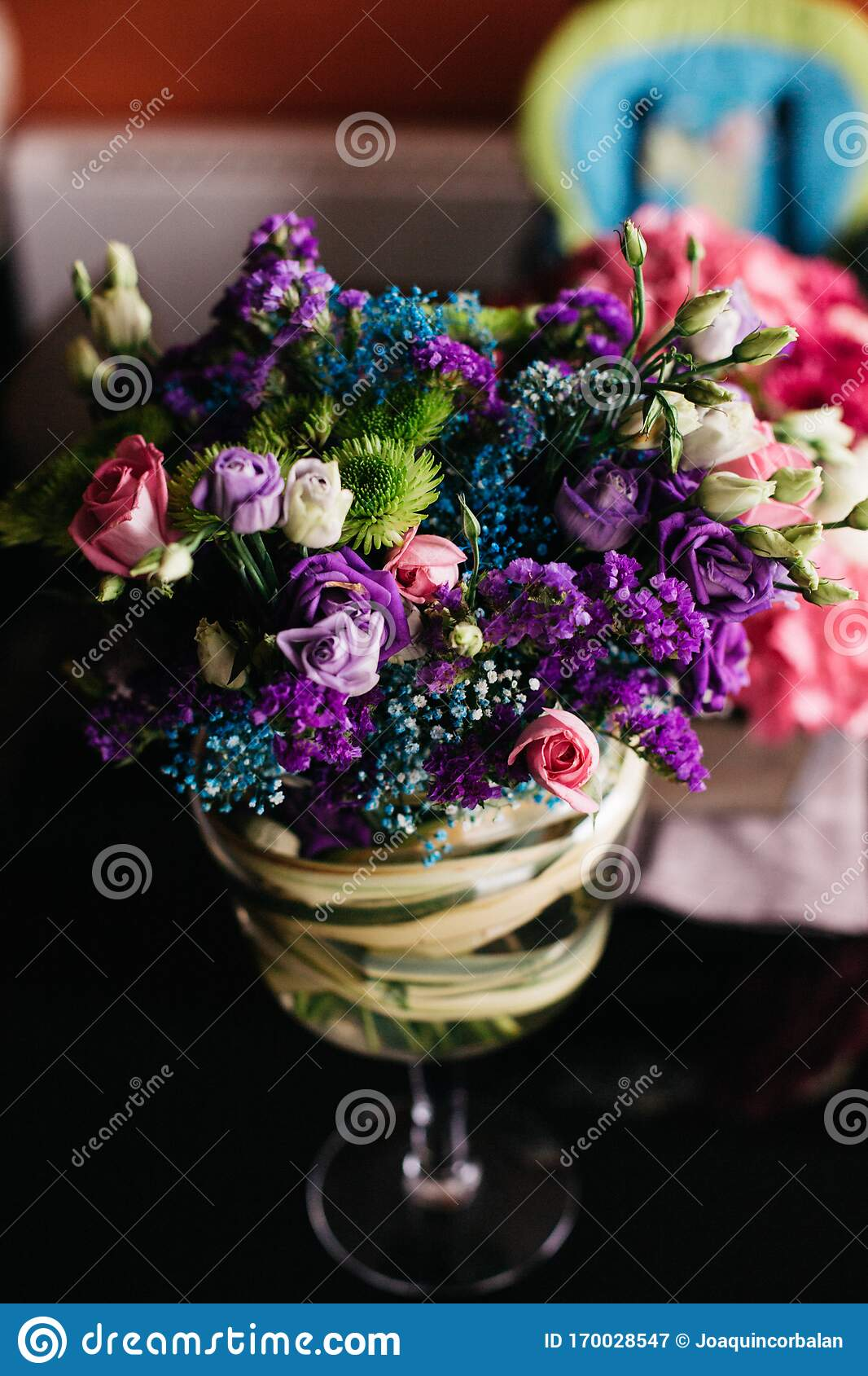 Colorful Bridal Bouquet Stock Image Image Of Symbol 170028547