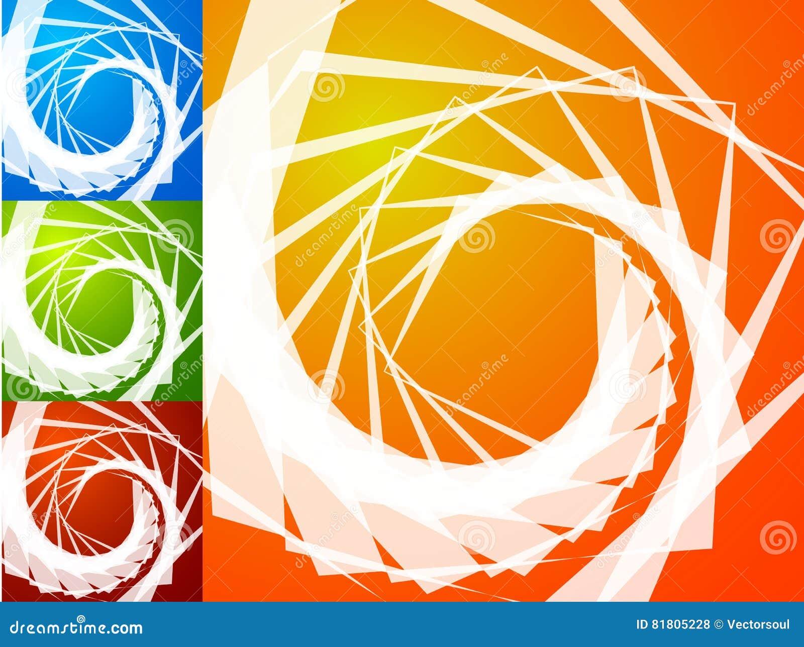 Colorful bright spirally background. Spiral, vortex background s