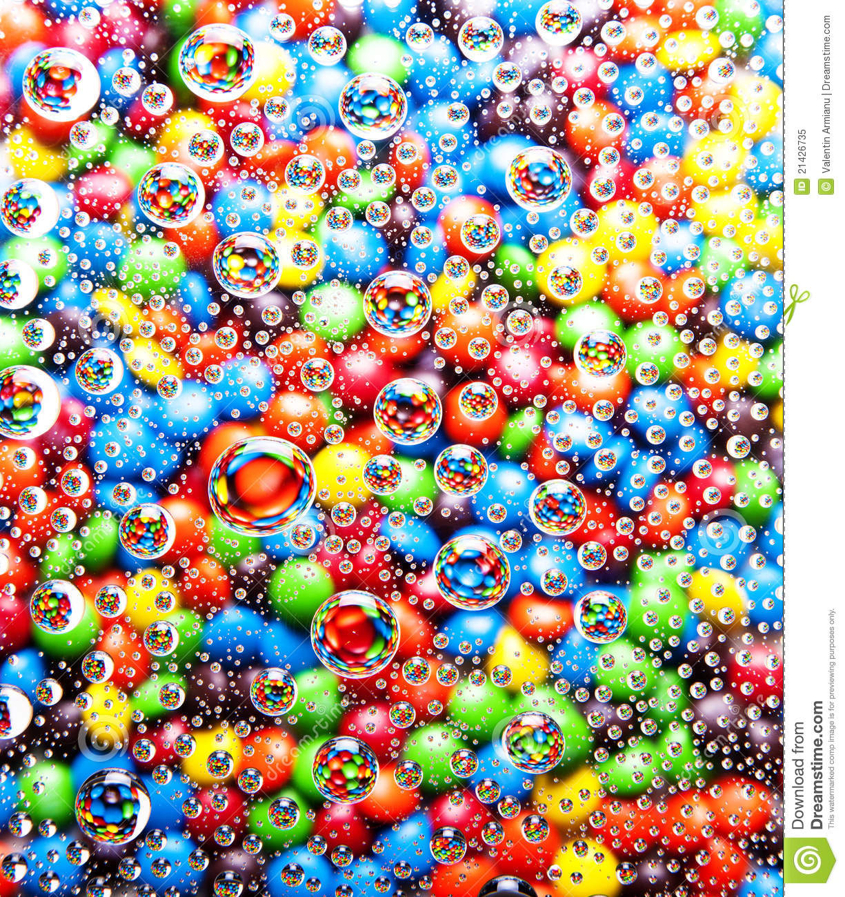 Colorful Bubbles Background Royalty Free Stock Photo - Image: 21426735