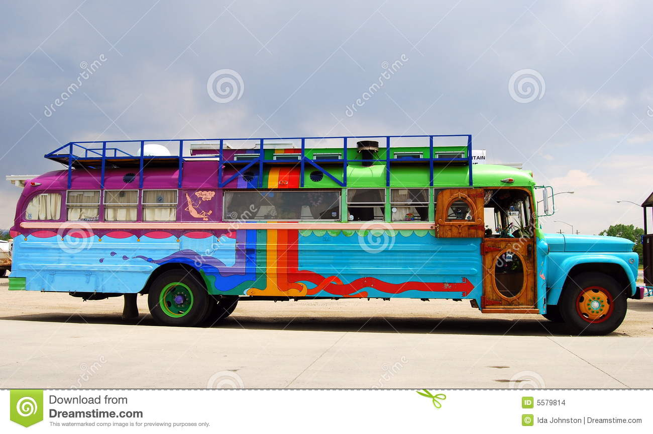 Colorful Bus Stock Images Image 5579814