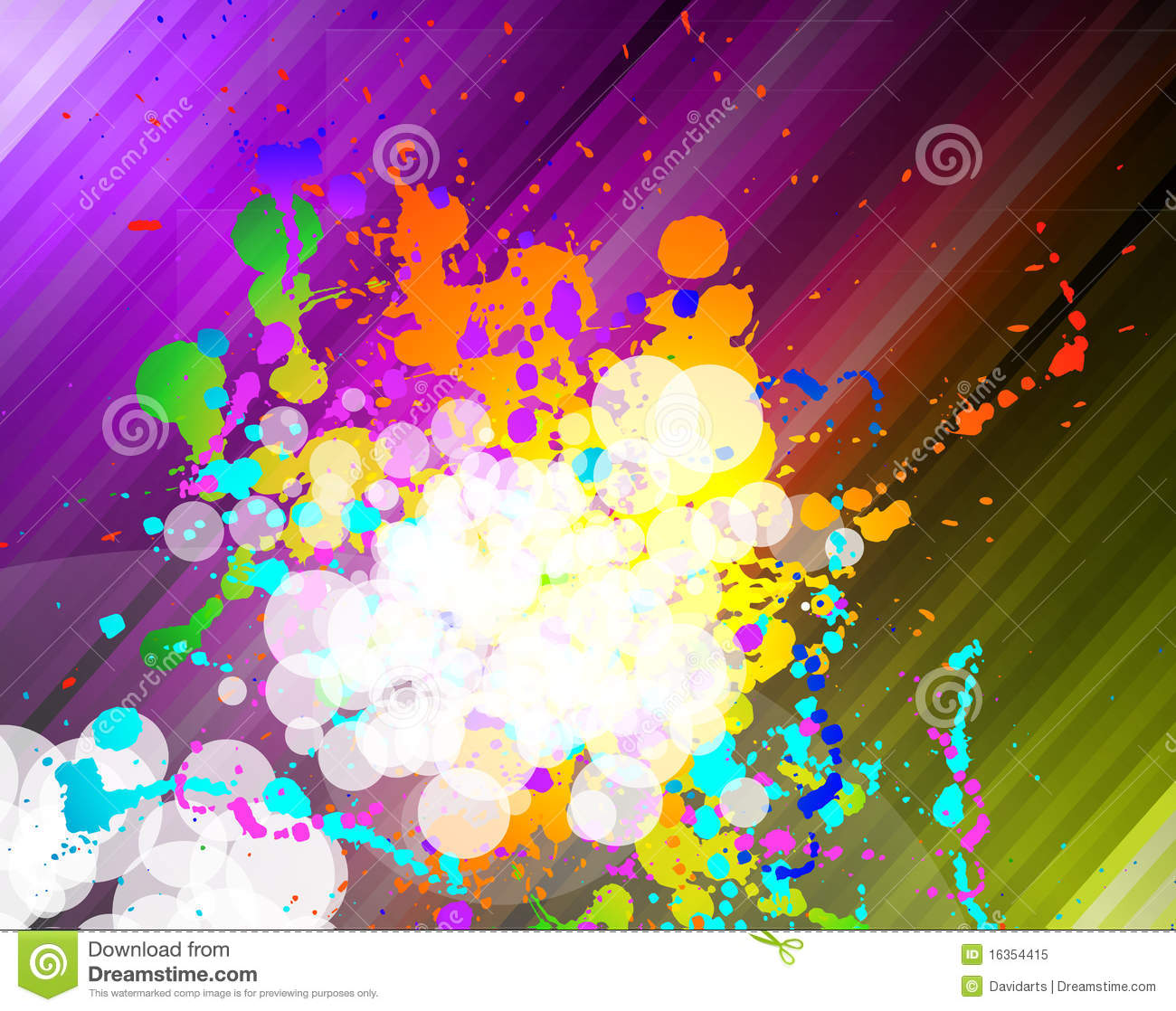 colorful business background for flyers stock illustration