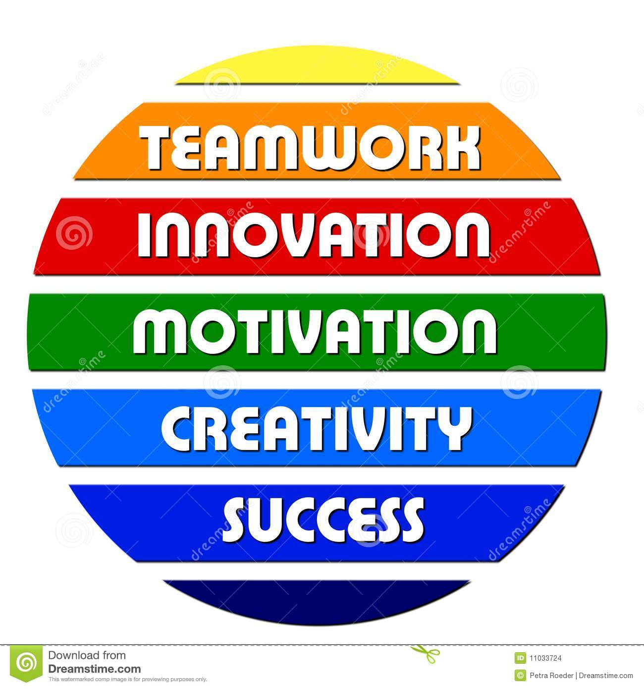 Colorful Business Motivation Slogans Stock Images - Image ...