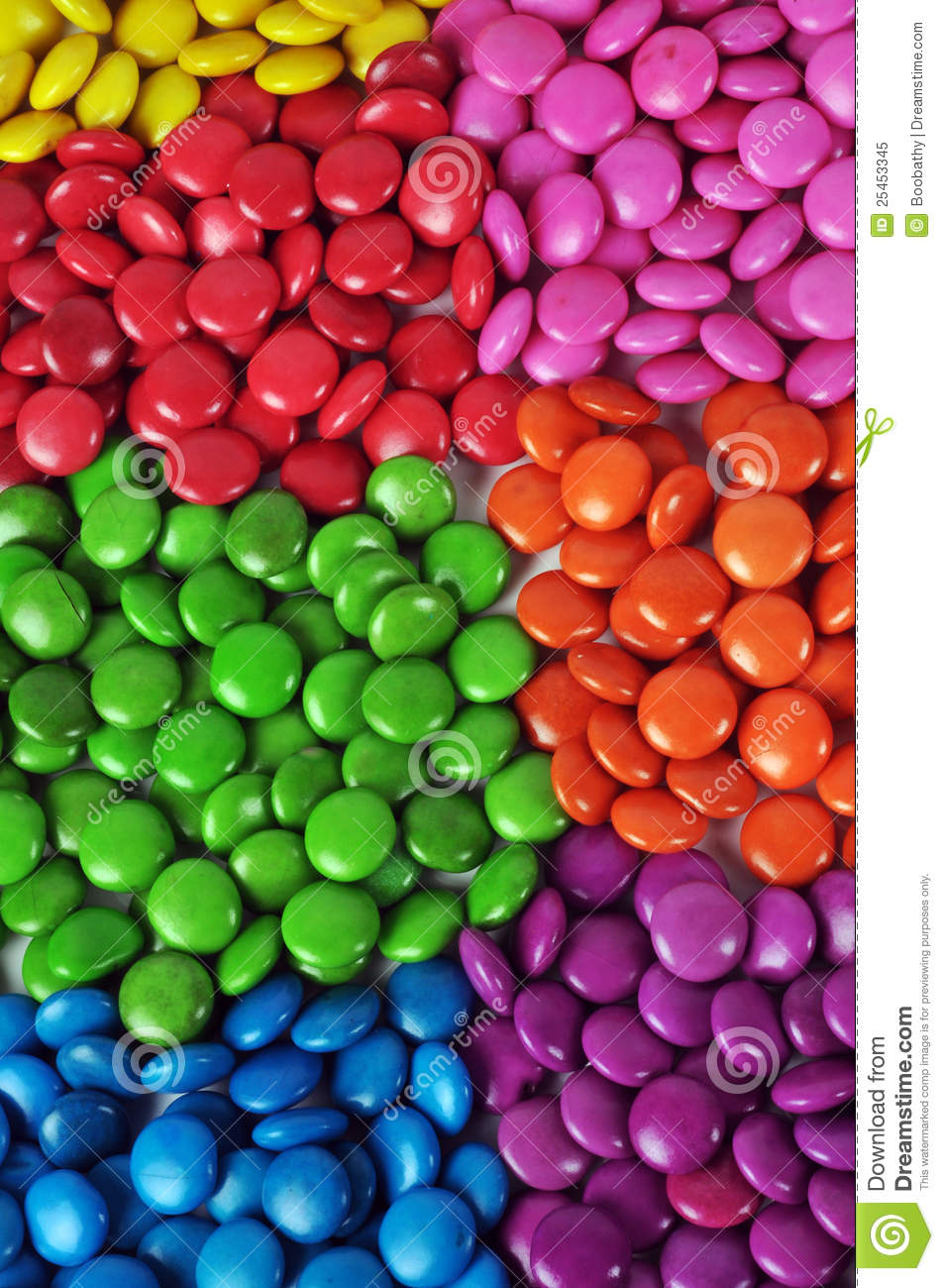 colorful candy stock image image of colored pink many 25453345