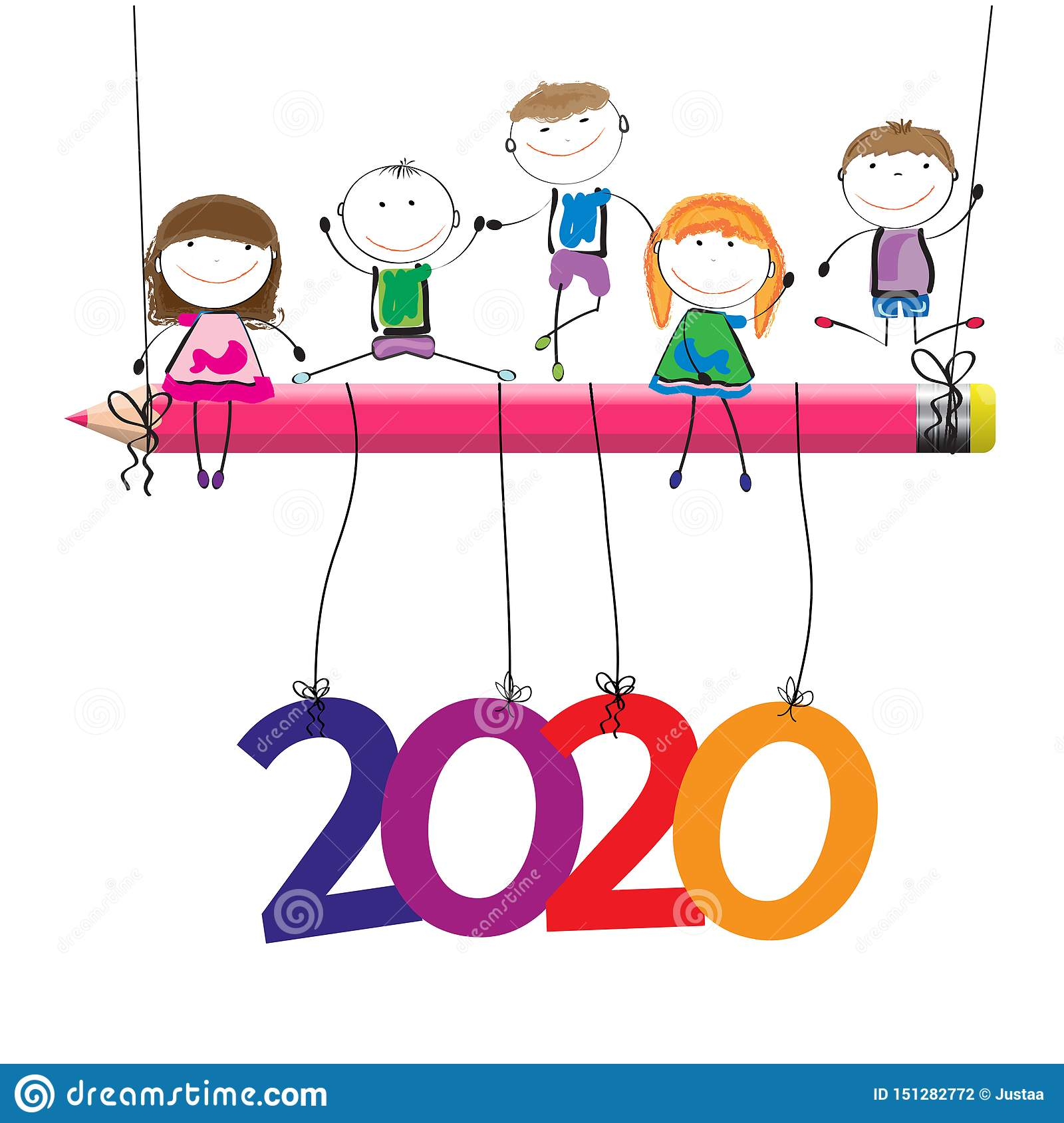Happy New Year Clipart 2020 69