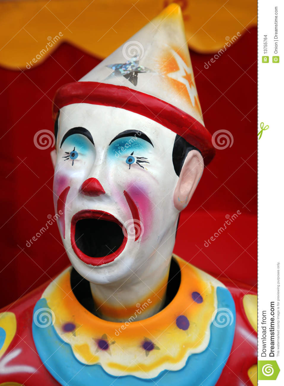More similar stock images of ` Colorful carnival clown `